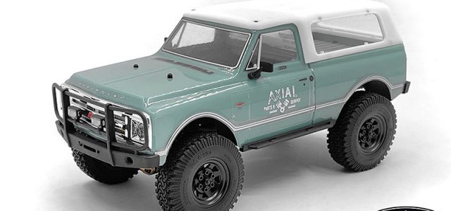 RC4WD Micro Series Truck Topper For The Axial SCX24 1/24 1967 Chevrolet C10