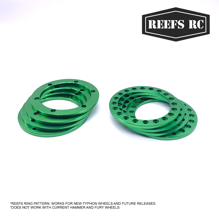 """Reef's RC 4 Inner & Outer 1.9"""" Rings"""