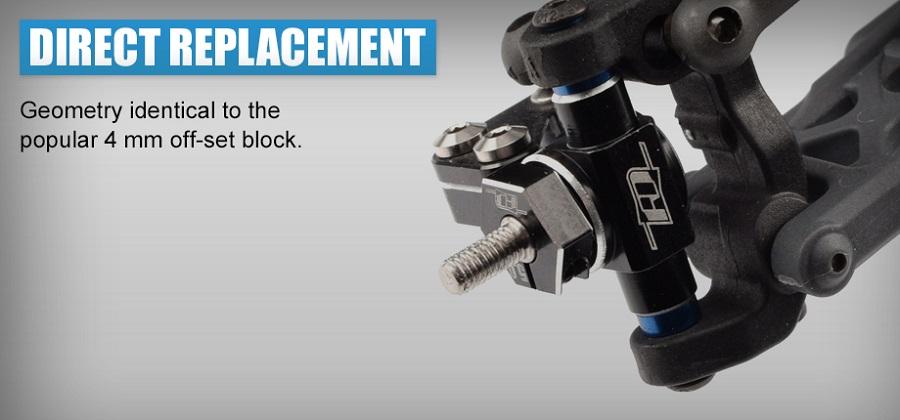 Revolution Design Aluminum Steering Block Set For The B6.3, T6.2 & SC6.2
