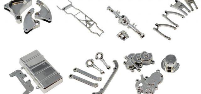 Redcat SixtyFour Chrome Suspension Parts