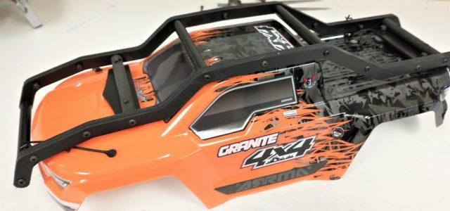 TBR R2 EXO Cage External Roll Cage For The Arrma Granite 4×4