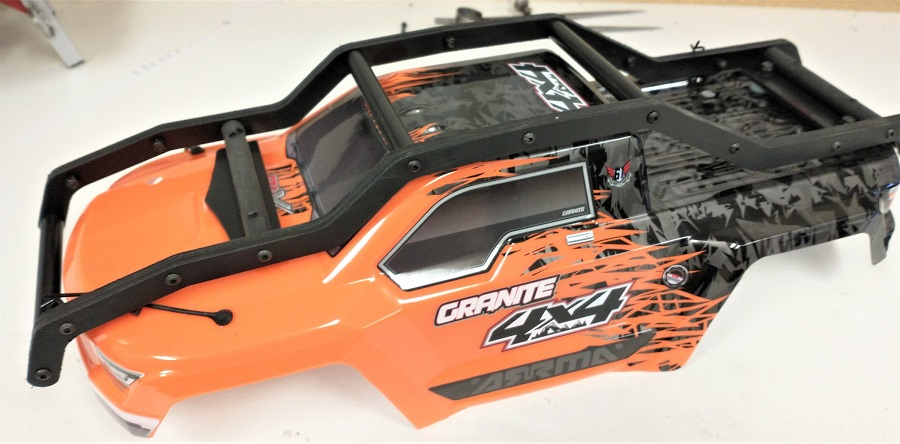 TBR R2 EXO Cage External Roll Cage For The Arrma Granite 4x4