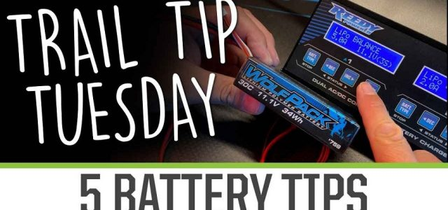 Trail Tip Tuesday: 5 Battery Care Tips [VIDEO]