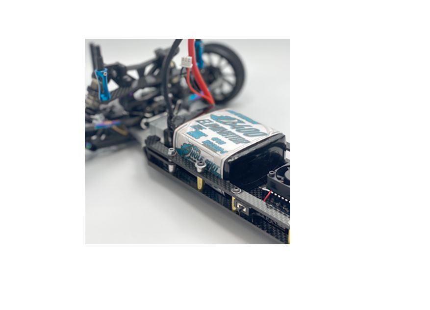 Trinity 2S 7.4V 6400mah True 200C Eliminator LiPo Drag Pack