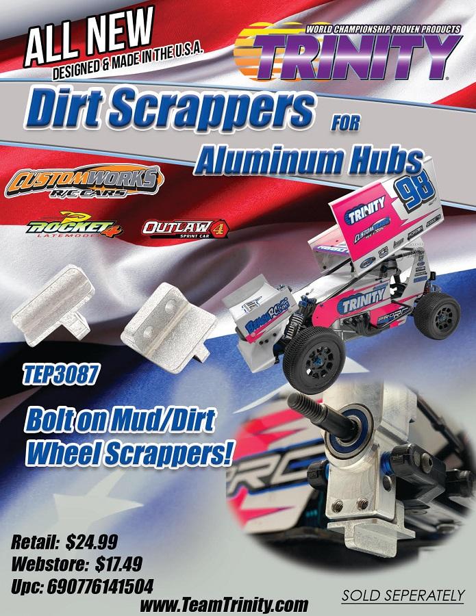 Trinity Aluminum Custom Works Hub Mud Scraper