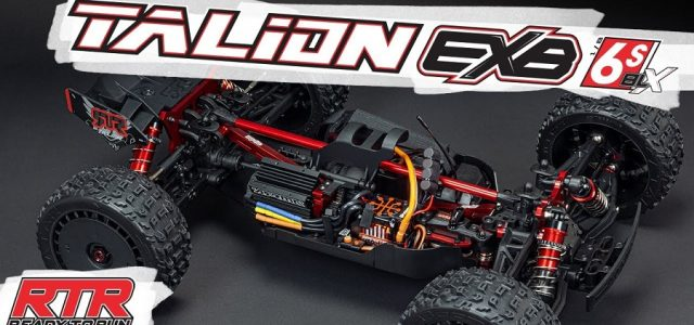Under The Hood Of The ARRMA TALION 6S BLX EXB Speed Truggy RTR [VIDEO]