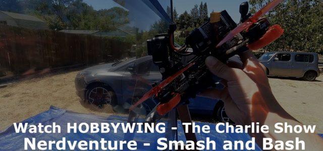 Watch A Drone & Monster Truck Smash Through A Slider Door [VIDEO]