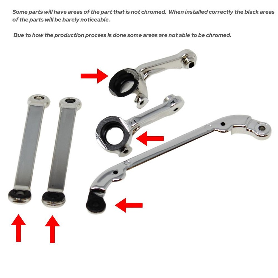 SixtyFour Chrome Suspension Parts