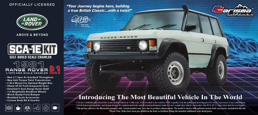 Carisma Range Rover 2.1 Spec Custom Kit