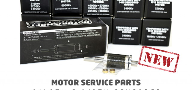 Castle Creations Motor Rebuild Kits For 14xx & 15xx Sensored Motors