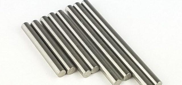 Custom Works RC Titanium Hinge Pins