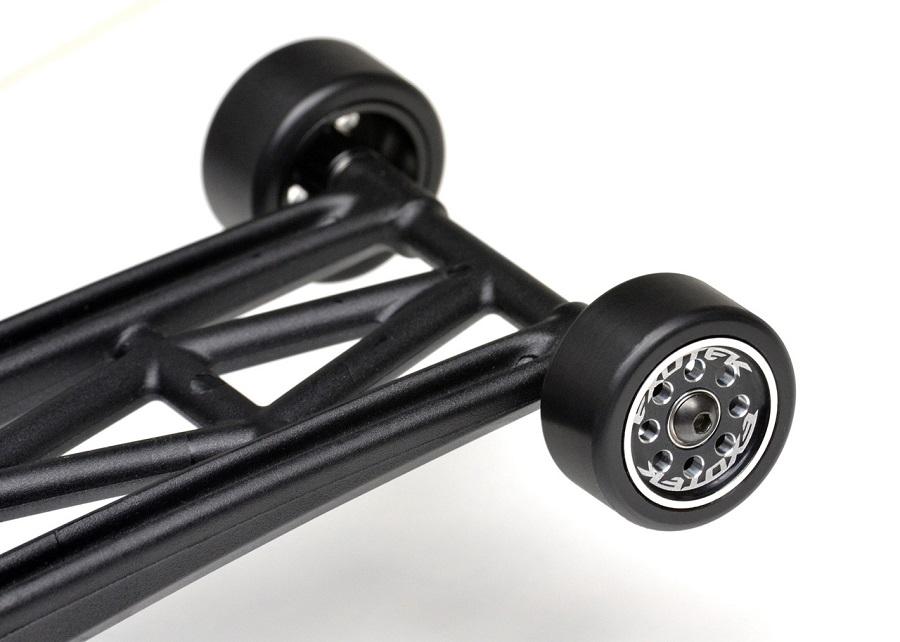Exotek 22S Drag Wheelie Bar Wheels