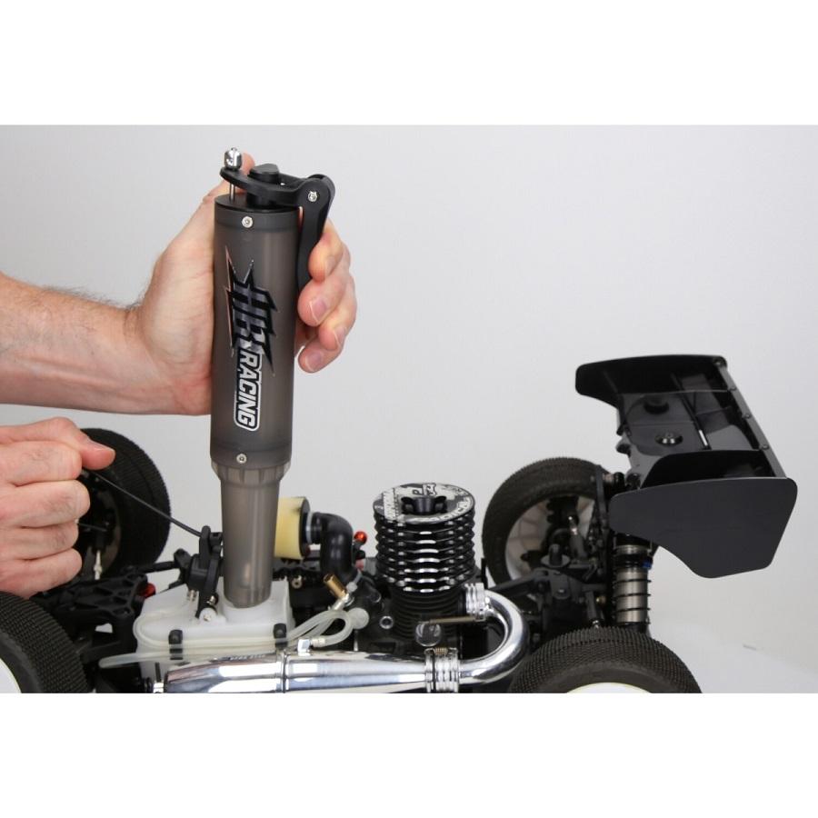 HB Racing Fuel Gun & Bottle