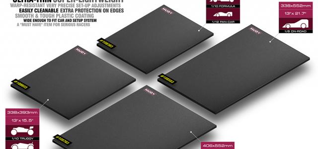 HUDY Lightweight, Dark Grey Flat Set-Up Board