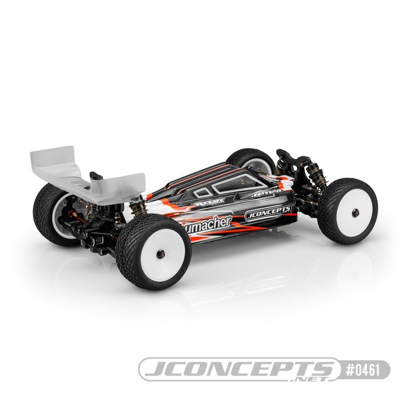 JConcepts S2 Clear Body For The Schumacher Cat L1 Evo