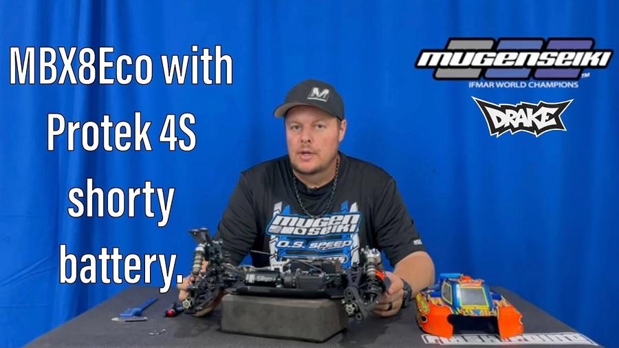 MBX8 Eco Shorty Battery Setup With Mugen's Adam Drake