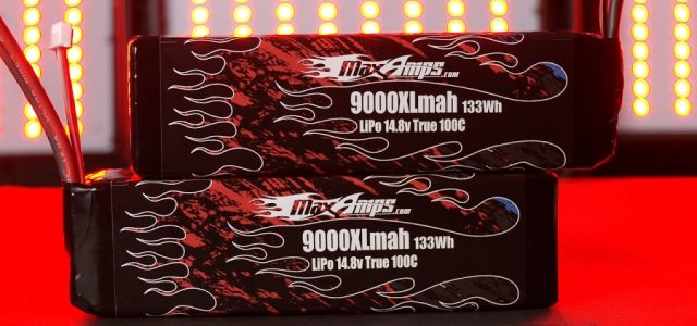 MaxAmps 9000XL 4S LiPo Pair For 8S Traxxas X-Maxx [VIDEO]