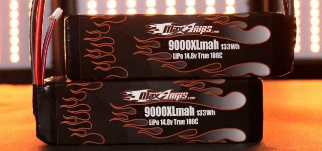 MaxAmps 9000XL 4S LiPo Pair For The Arrma Kraton 8S BLX [VIDEO]