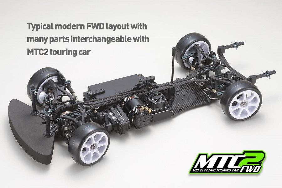 Mugen Seiki MTC2 FWD Kit