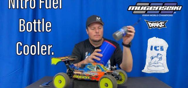 Mugen's Adam Drake Talks About The Nitro Fuel Bottle Cooler [VIDEO]