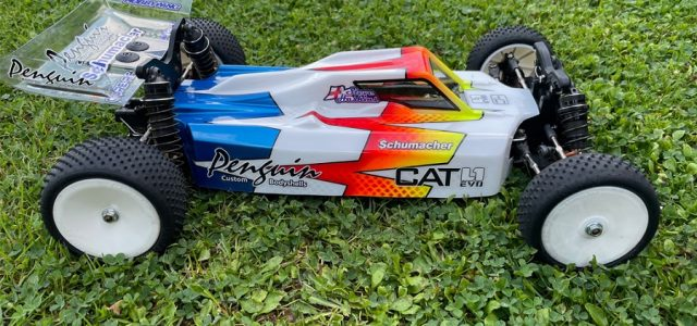 Penguin Clear Dart Body For Schumacher The CAT L1 Evo