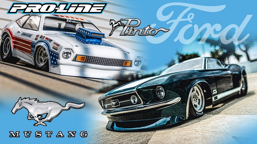 Pro-Line 1967 Ford Mustang & 1972 Ford Pinto Clear Bodies