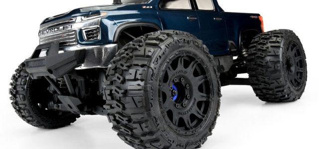 Pro-Line 2021 Chevy Silverado Clear Body For The Traxxas E-REVO 2.0 & MAXX