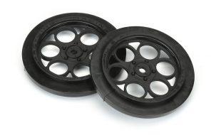 Pro-Line Showtime Front Runner 2.2″/2.7″ Black Front Drag Wheels