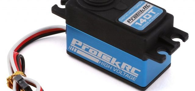 ProTek RC 140T Low Profile High Torque Metal Gear Servo (High Voltage)