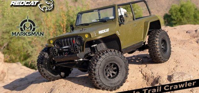 Redcat TC8-Marksman 1:8 Scale Trail Crawler [VIDEO]