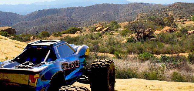 Rocky Hill Adventure With The Traxxas Maxx [VIDEO]