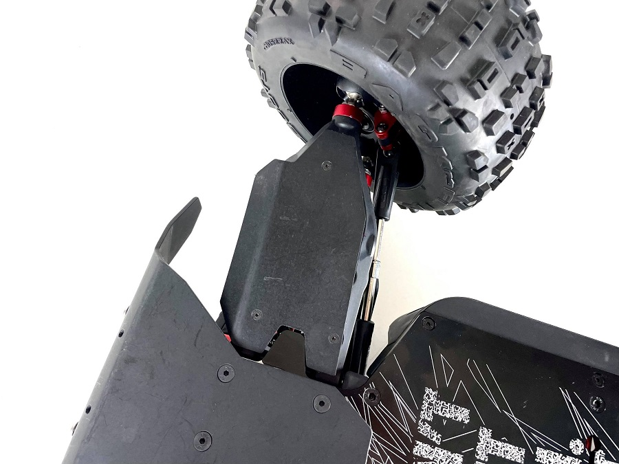 TBR Front A-Arm Skid Plates For The ARRMA Kraton / OutCast 8s