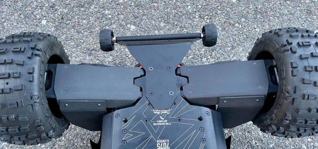 TBR Rear Mud Guards & A-Arm Skid Plates For The ARRMA Kraton / OutCast 8s