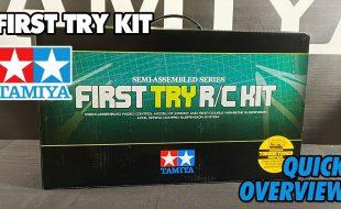 Tamiya Plasma Edge II First Try Kit – Unboxing [VIDEO]