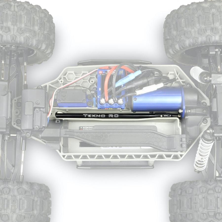 Tekno RC Big Bone Center Driveshaft For The Traxxas Hoss & Rustler 4X4