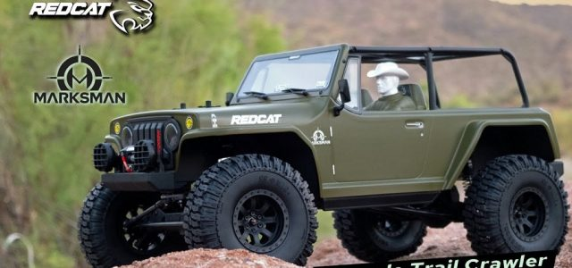 The Redcat TC8-Marksman – 1/8 Scale Brushed Electric Trail Crawler [VIDEO]