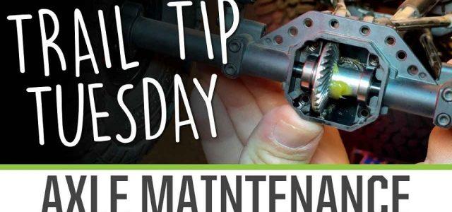 Trail Tip Tuesday: Axle Maintenance [VIDEO]