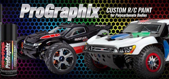 Traxxas ProGraphix Custom RC Paint [VIDEO]