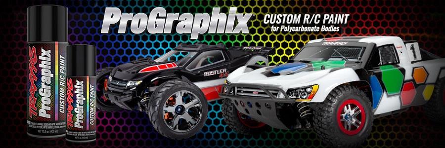 Traxxas ProGraphix Custom RC Paint