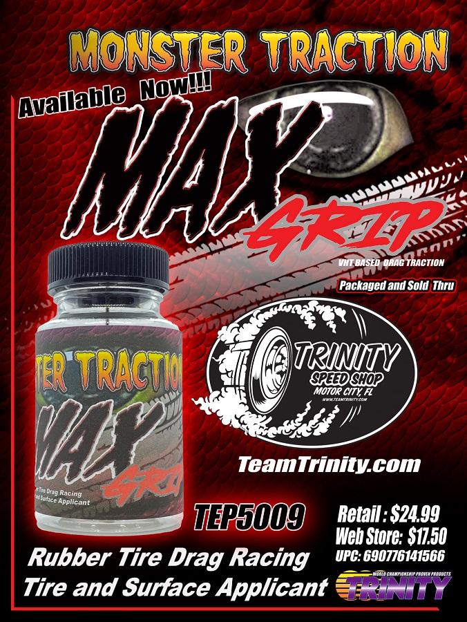 Trinity Max Grip Drag Race Tire & Surface Prep