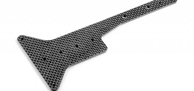 XRAY XT8'22 Long 2.2mm Graphite Chassis Stiffener