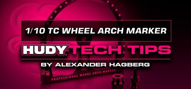 HUDY Tech Tips – 1/10 TC Wheel Arch Marker [VIDEO]
