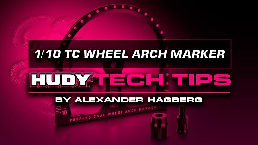 HUDY Tech Tips - 1/10 TC Wheel Arch Marker
