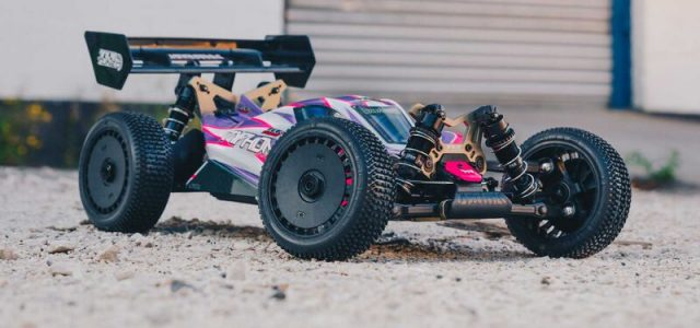 ARRMA 1/8 TLR Tuned TYPHON 4WD Roller Buggy [VIDEO]
