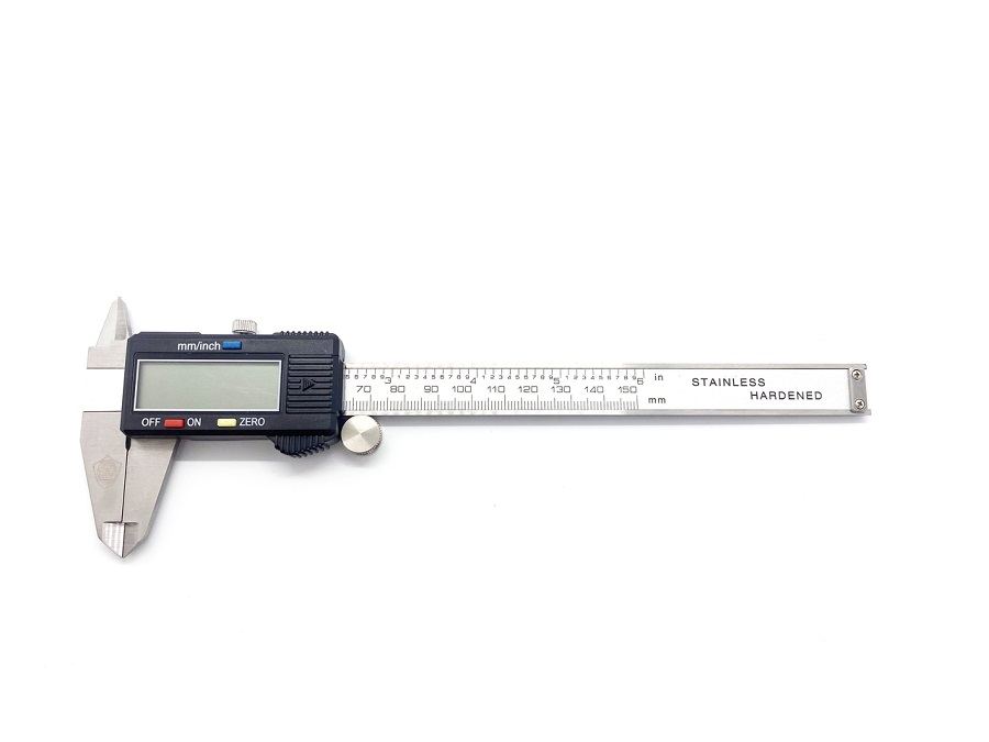 """Assault RC 6"""" Digital Stainless Steel Calipers With Hard Case"""
