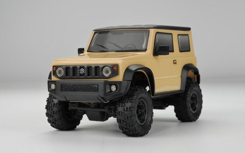 Carisma MSA-1E 1/24 Suzuki Jimny JB74 Now Available In Ivory