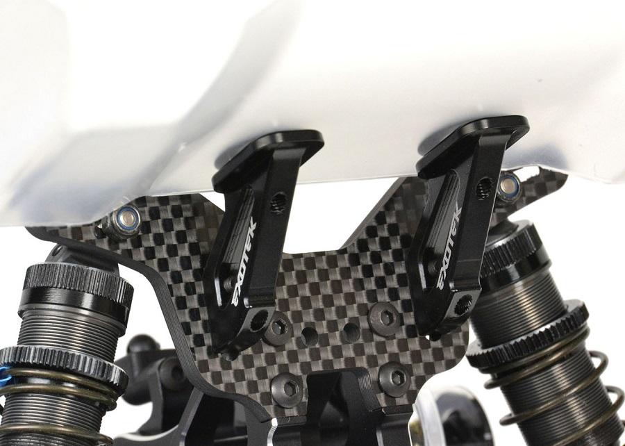 Exotek HD Wing Mount For Schumacher 2WD/4WD Buggies