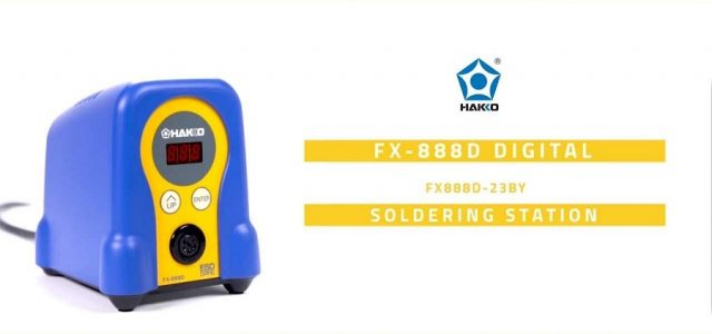 Experience The Power Of The FX-888D Soldering Station [VIDEO]
