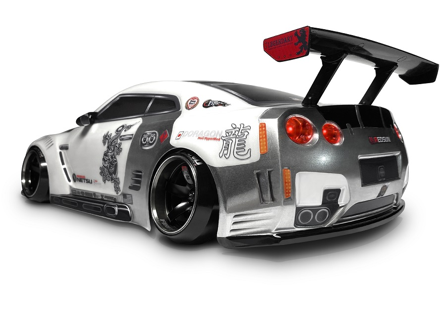 FireBrand RC Netsu Redsun GTR Touring Car Clear Body (200mm)