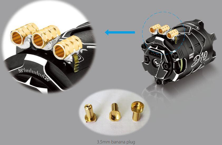 HOBBYWING XeRun D10 Brushless Drift Motor